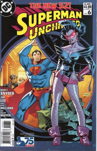 Superman Unchained #6 Modern Age Rick Leonardi Variant