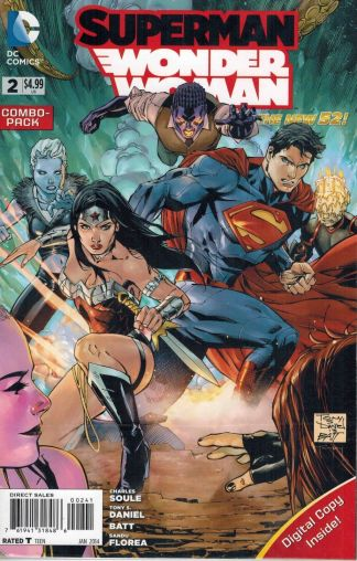 Superman Wonder Woman #2 Tony Daniel Digital Combo Pack Variant