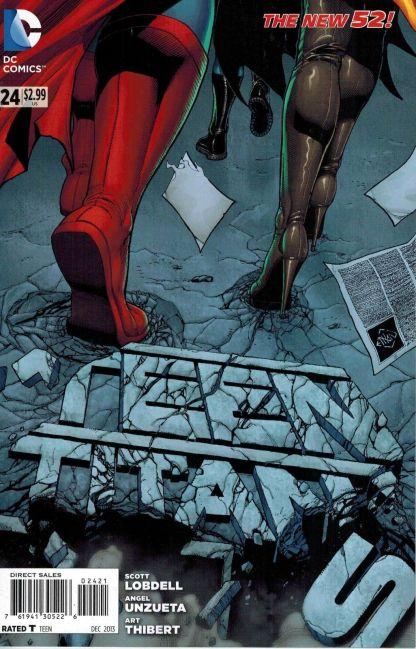 Teen Titans #24 Ethan Van Sciver Variant
