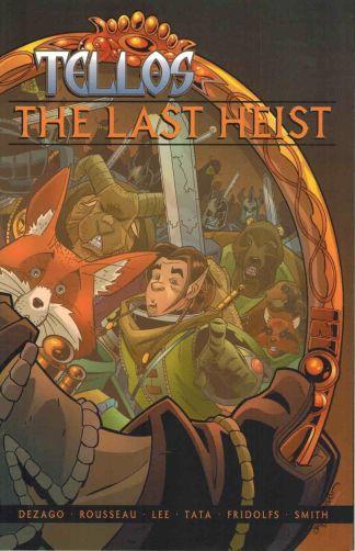 Tellos: The Last Heist #1 Mike Wieringo