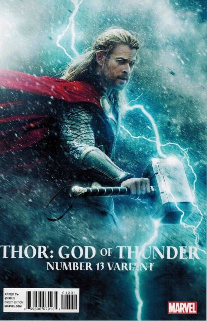 Thor: God of Thunder #13 Movie Photo Variant