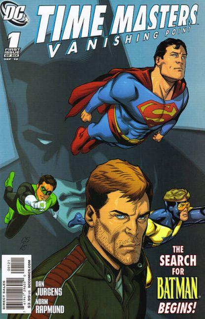 Time Masters: Vanishing Point #1 Chris Sprouse Variant Batman