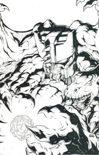 Transformers: Beast Wars - The Gathering #3 Don Figueroa Sketch Variant RI B