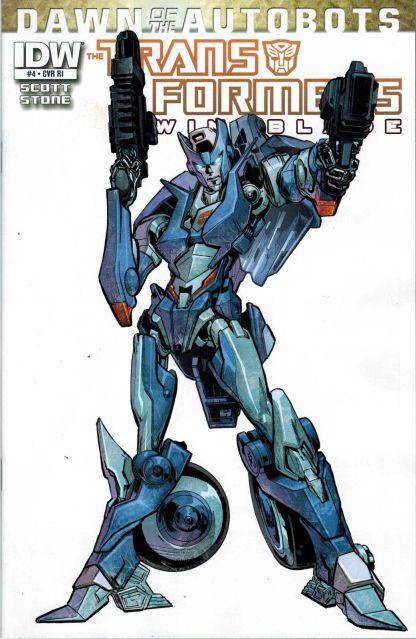 Transformers: Windblade #4 1:10 RI Variant
