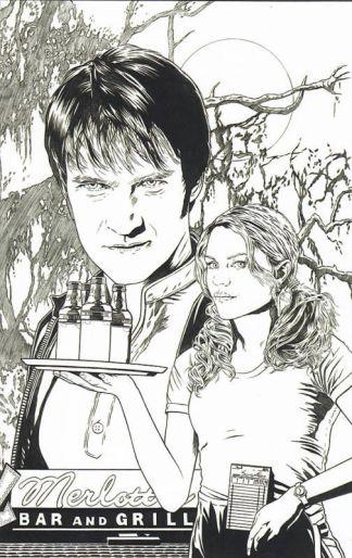 True Blood #4 Joe Corroney Sketch Variant