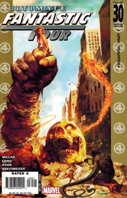 Ultimate Fantastic Four #30 Arthur Suydam Marvel Zombies Variant