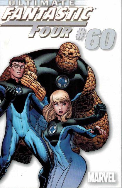 Ultimate Fantastic Four #60 White Team Ed McGuinness Variant