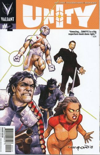 Unity #2 1:25 Cary Nord Variant Cover C Valiant 2013