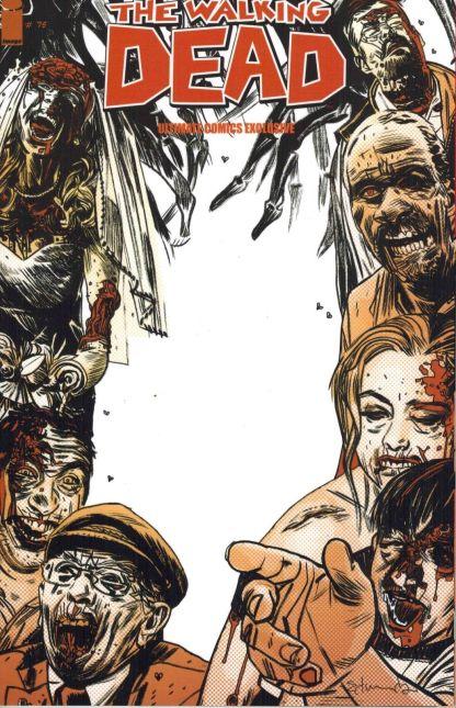 Walking Dead #75 Ultimate Comics Exclusive Variant VF