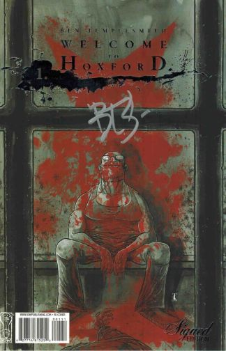 Welcome To Hoxford #1 Ben Templesmith Signed Edition Variant