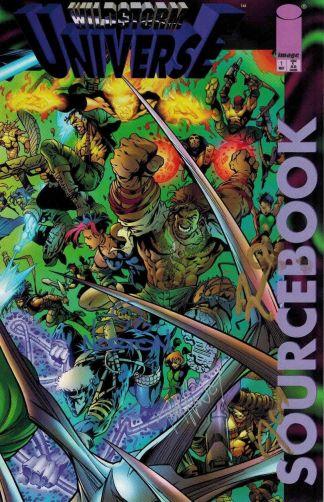Wildstorm Universe Sourcebook #1 Signed Dan Norton Tom Raney Rob Ro Jeromy Cox