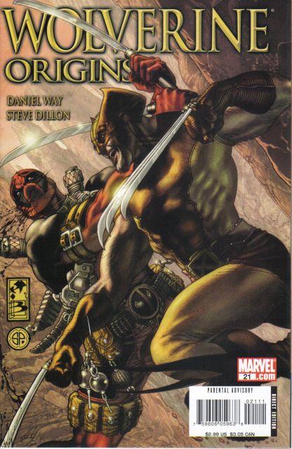 Wolverine: Origins #21 Simone Bianchi Cover 1st Printing Deadpool Returns
