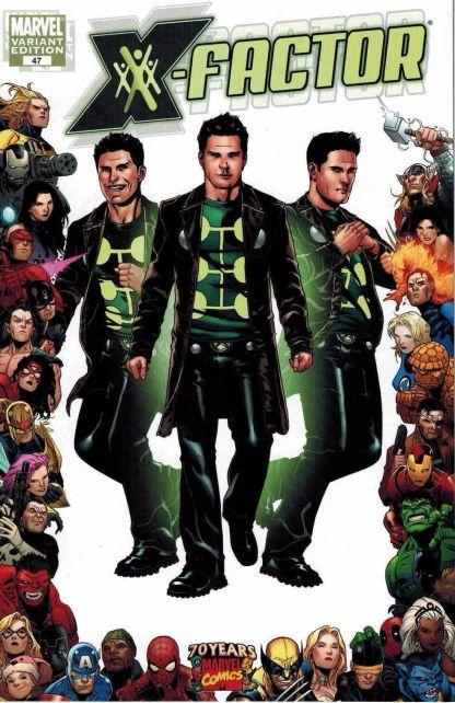 X-Factor #47 Pablo Raimondi Madrox 70 Years of Marvel Variant