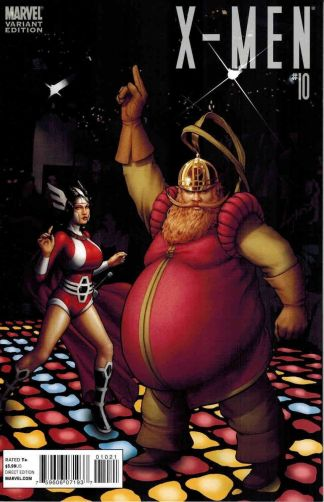 X-Men (2010) #10 Thor Goes Hollywood Lady Volstagg Saturday Night Fever Variant