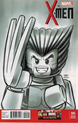 X-Men #5 1:100 Castellani Lego Sketch Variant Marvel NOW 2013
