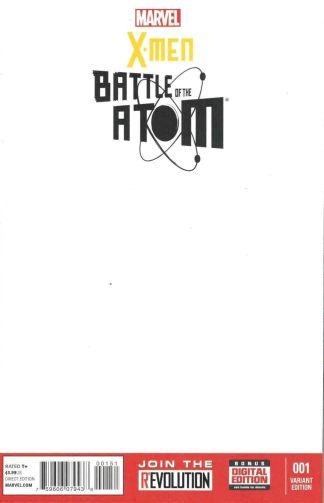 X-Men Battle of the Atom #1 Blank Sketch Variant Frank Cho Brian Bendis