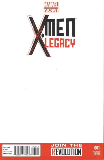 X-Men Legacy #1 Blank Sketch Variant Marvel NOW 2012 Legion FX TV