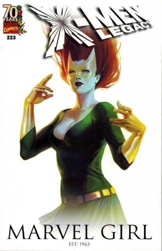 X-Men Legacy #223 Marvel Girl 70th Anniversary Marvel Comics Variant