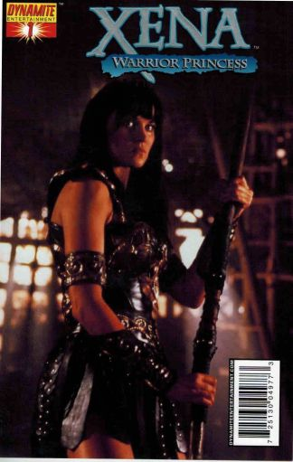 Xena Warrior Princess #1 High End Foil Lucy Lawless Photo Cover