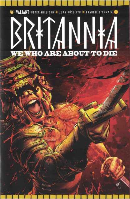 Britannia We Who Are About to Die #1 1:20 Adam Gorham Cover E Valiant 2017