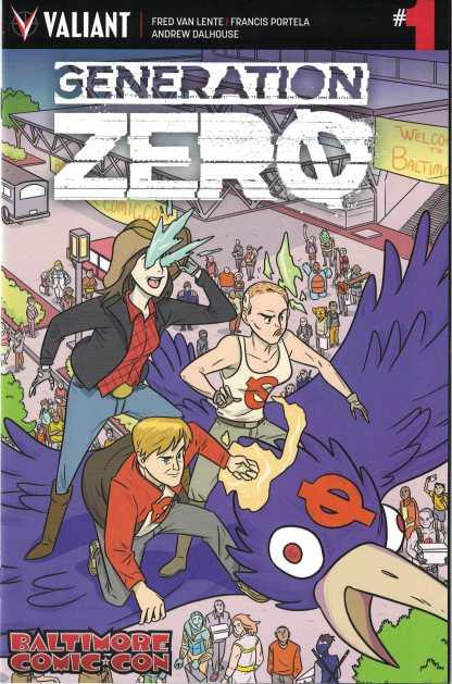 Generation Zero #1 Baltimore Comic Con Variant Valiant 2016