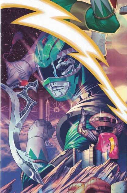 Mighty Morphin Power Rangers #16 1:20 Steve Morris Variant Boom! Studios 2016