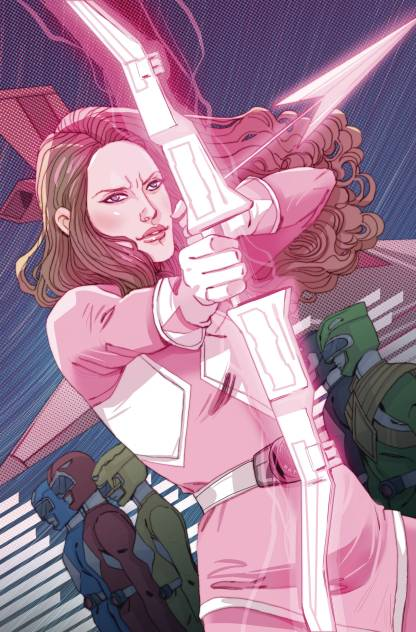 Power Rangers Pink #1 1:10 Marguerite Sauvage Variant Boom Studios 2016 MMPR