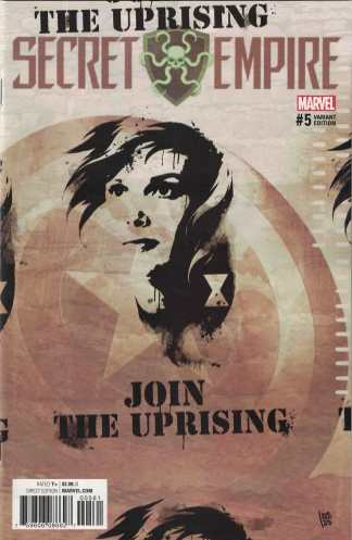 Secret Empire #5 1:25 Andrea Sorrentino Variant Marvel 2017