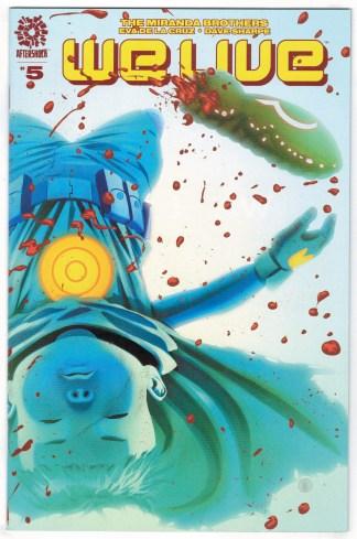 We Live #5 Inaki Miranda Cover 1st Print Aftershock 2020 1st Palladions VF/NM