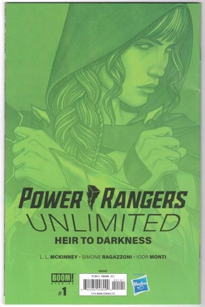 Power Rangers Unlimited #1 1:50 Jenny Frison Variant Boom! 2021 RARE VF