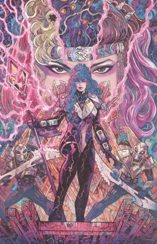 Power Rangers Unlimited Heir to Darkness #1 1:25 Villain Variant Boom 2021