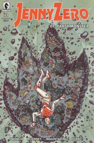 Jenny Zero #1 RECALLED Misprint Edition Dark Horse 2021 Dwonch McKinney
