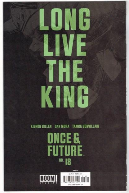 Once & Future #18 1:10 Dan Mora Black & White Variant Boom 2019 VF/NM
