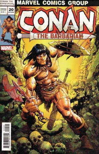 Conan the Barbarian #20 1:25 Dan Panosian Variant Marvel 2019