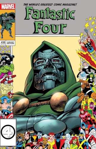 Fantastic Four #33 Ultimate Comics Exclusive Scott Eaton Marvel Frame Variant 2021 Doctor Doom Ships 6/16