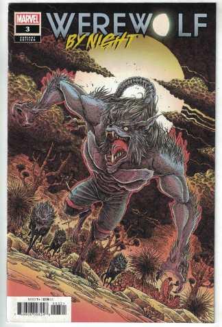 Werewolf by Night #3 1:25 James Stokoe Variant Marvel 2020 VF/NM