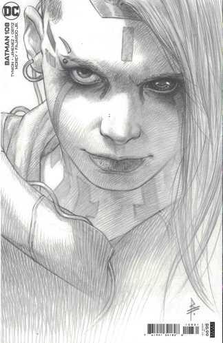 Batman #108 1:25 Riccardo Federici Sketch Variant DC 2016 James Tynion IV