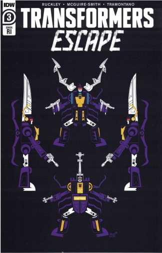 Transformers Escape #3 1:10 Sara Pitre-Durocher Variant IDW 2020 Ruckley
