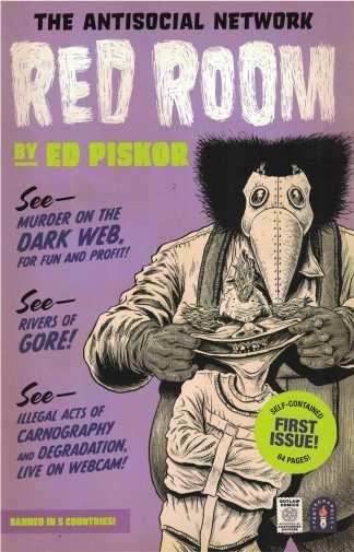 Red Room #1 1:5 Ed Piskor Variant Fantagraphics 2021