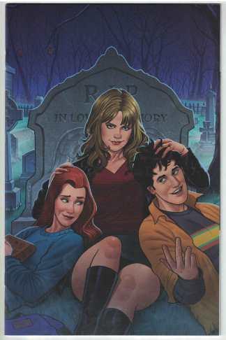Buffy the Vampire Slayer #25 Quinones Virgin Variant BOOM! 2019 VF/NM
