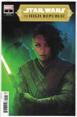 Star Wars High Republic #2 1:25 Witter Variant Marvel 2021 VF/NM