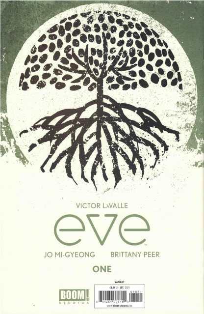 Eve #1 1:50 InHyuk Lee Virgin Variant Boom! Studios 2021 Victor Lavalle