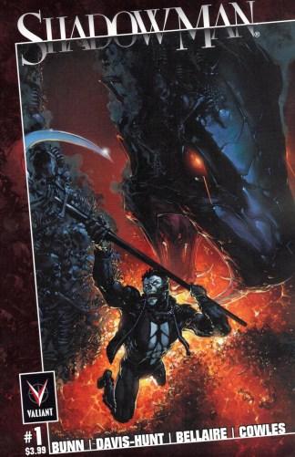 Shadowman #1 Clayton Crain Ultimate Comics Exclusive Variant Marvel 2021