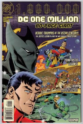 DC One Million 80-Page Giant Crisis 1999 Batman Beyond Cameo 1999 VF/NM