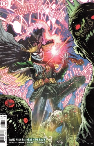 Dark Nights Death Metal #6 1:25 Doug Mahnke Variant DC 2020 Robin King