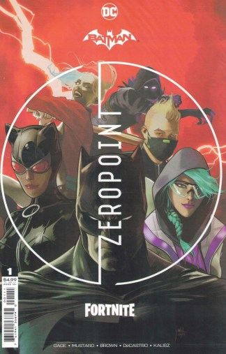 Batman Fortnite Zero Point #1 1st Print Cover A DC 2021 Sealed Polybagged