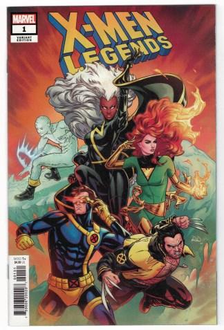 X-Men Legends #1 1:25 Russell Dauterman Variant Marvel 2021 VF/NM