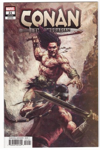 Conan the Barbarian #21 1:25 Marco Mastrazzo Variant Marvel 2019 Jim Zub VF/NM