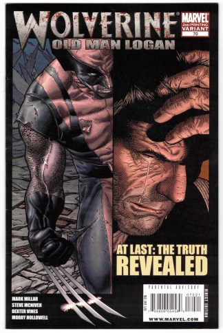 Wolverine #70 2nd Print McNiven Variant Marvel 2003 Old Man Logan VF/NM
