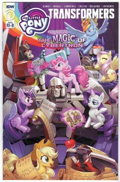 My Little Pony Transformers Magic of Cybertron #1 1:25 RI-B Variant 2021 VF/NM